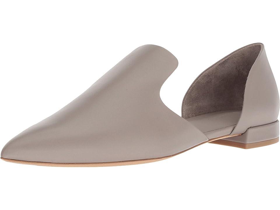 Vince Damris (Dark River Clay Siviglia Calf) Women's Shoes, Taupe