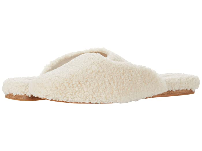 70s Clothes | Hippie Clothes & Outfits Dolce Vita Saydee Natural Plush Womens Slippers $50.40 AT vintagedancer.com