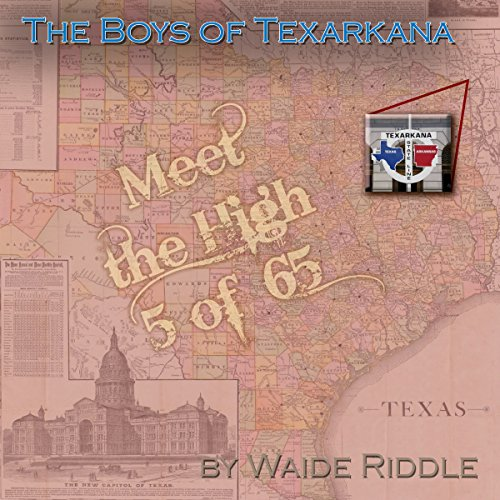 The Boys of Texarkana audiobook cover art
