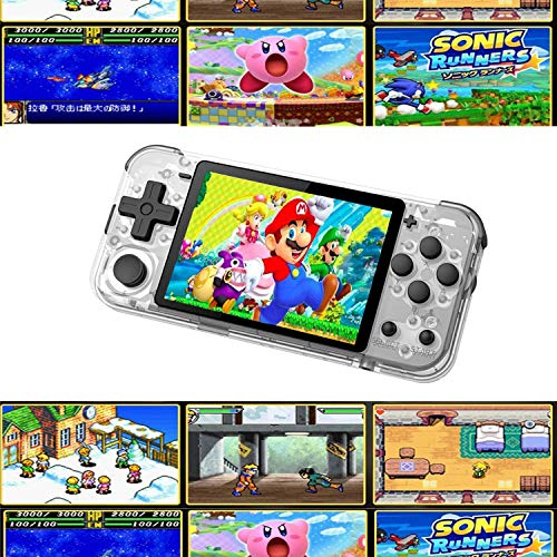 Retro Handheld Gaming Console-Classic Pocket PS Joystick Arcade with 3.0 Inch HD Screen, Open Dual System and Built-in 2000+ Classic Games, A Handheld Video Game Console for Kids
