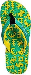 Frestol Unisex Kid's Green Flip-Flops-11 UK/India (29 EU) (FRFWK0302GN11)