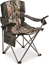 Guide Gear Oversized King Camp Chair, 500-lb.Capacity, Mossy Oak Break-Up Country, Mossy Oak Country Camo