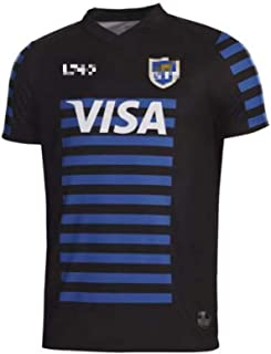 ラグビージャージ、2020-2021アルゼンチンのホームジャージとアウェイジャージ、メンズ速乾性スポーツ半袖