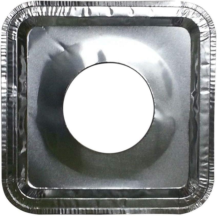 Thaweesuk Shop 40 Max 44% OFF pcs. Aluminum Burner Foil Disposabl Square Bombing free shipping Gas