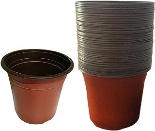 Lingxuinfo - Macetas de plástico para guardería, 50