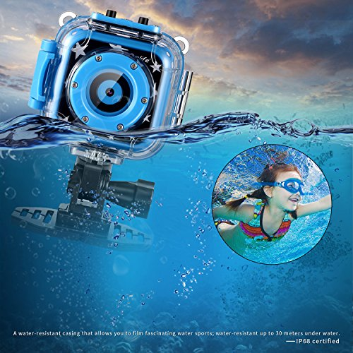 The Ourlife Waterproof video camera is a cool gadget for tweens