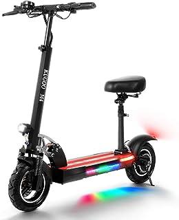 comprar comparacion urbetter Patinete Electrico Adulto, Scooter eléctrico Plegable, Pantalla LCD 10AH 500W, neumáticos de 10 Pulgadas, equipad...