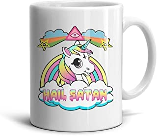 LOUTRTDF Unicorn Cartoon Mans and Womens 11oz Coffee Mug Cute Wife Cups