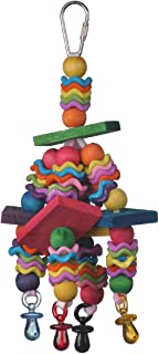 Super Bird Creations Wiggles and Wafers Toy for Birds