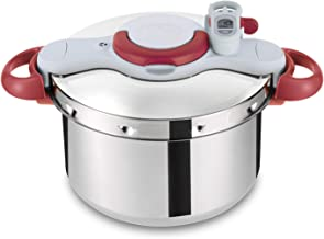 Tefal Clipsominut Perfect 7.5L Pressure Cooker - P4624831, Stainless Steel, Multi Color