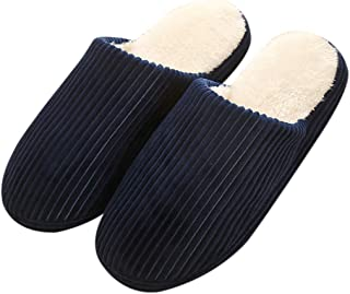 Outgeek Winter Slippers Anti-slip Warm Slipper Indoor Slipper for Women or Men