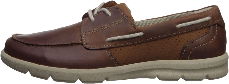 Clarks Mens Jarwin Edge Sneaker