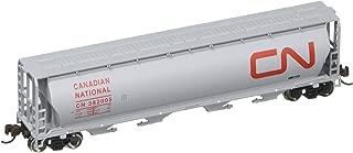 Bachmann Industries Inc. Canadian 4-Bay Cylindrical Grain Hopper Canadian National - N Scale