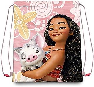 """Vaiana/Moana Disney Drawstring Bag, Carry Bag for Children(15.8"""" X 13.5"""")"""