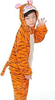 OVOV Kid's Animal Onesie Cosplay Costume Pajamas Unisex Child Sleepsuit Party Halloween Christmas