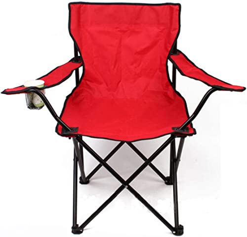 Anddod de plein air portable Folding Chair Fishing Camping plage Picnic Chair Seat with Cup Holder