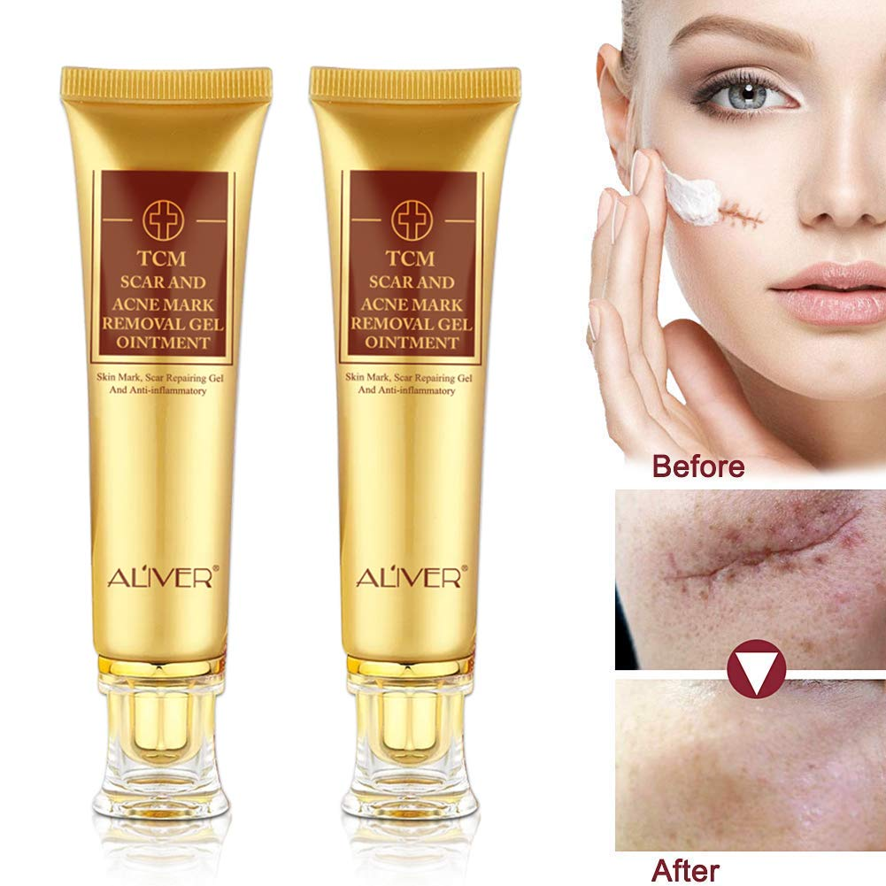 2pcs Tcm Scar Cream Skin Repair Face Cream Acne Spots Acne