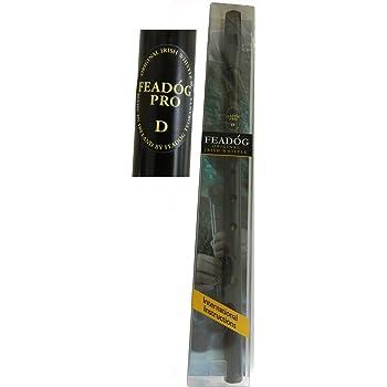 Feadog Pro Tin Whistle in Black