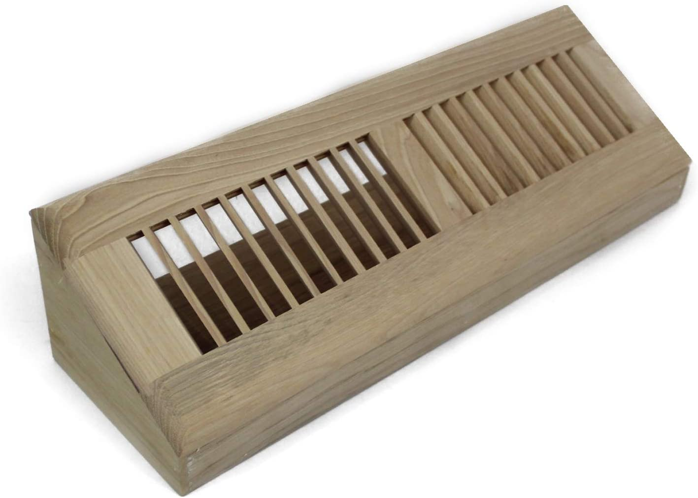 WELLAND 15 inch Hickory Hardwood Max 51% OFF Baseboard service Registe Diffuser Wall