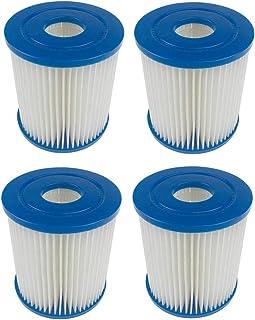 GAODA Cartucho de filtro para tinas de hidromasaje, para cartucho de filtro Bestway I, para bombas de filtro Bestway de 330 galones por hora. (4 piezas)