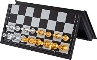 Folding Chess Set Game Board - Contains Chess Pieces And Chess Board, Two More Queens Are Given - The Bottom Of The Chess ...
