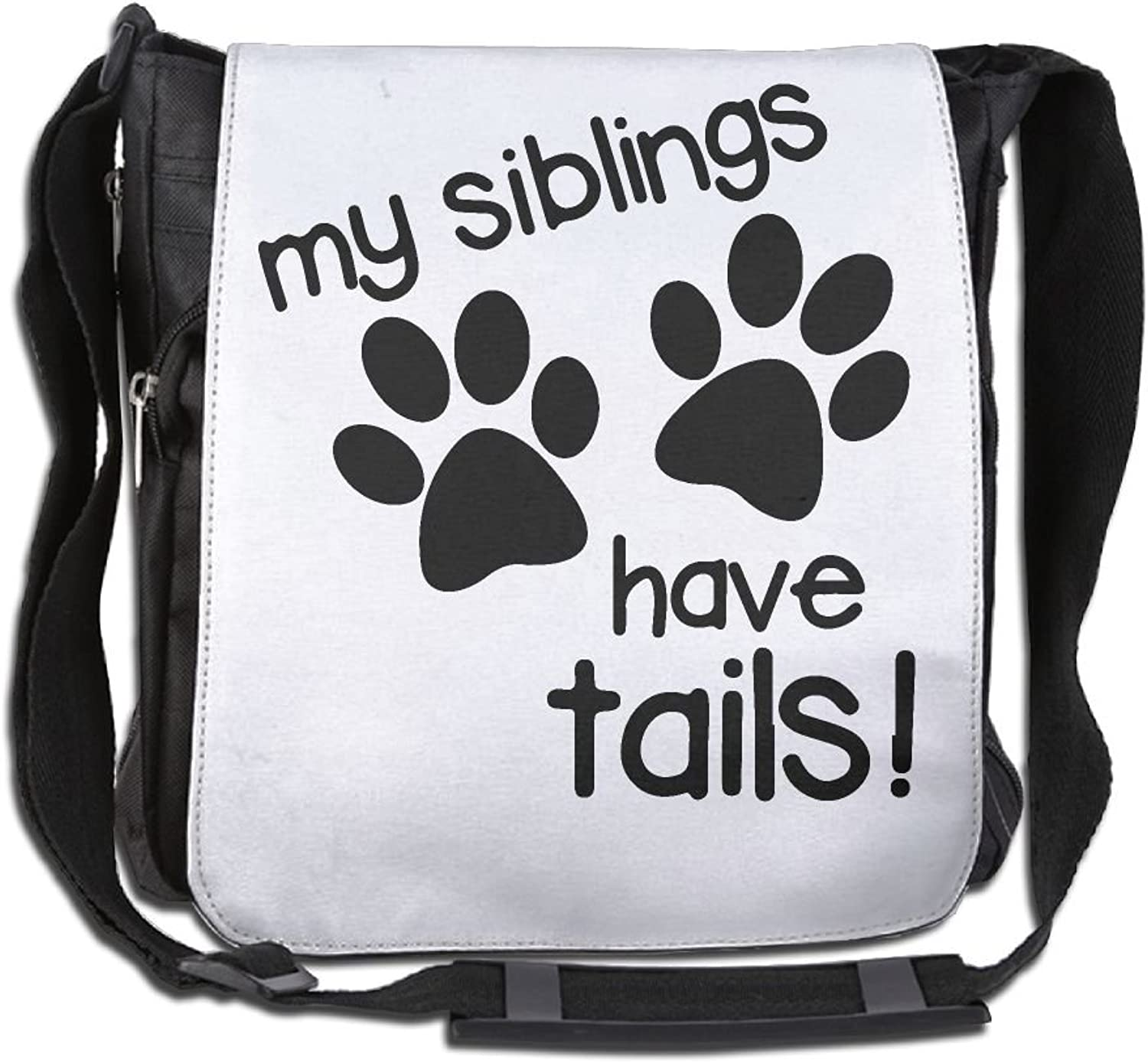 My Siblings Have Tails Casual Unisex Shoulder Handbag
