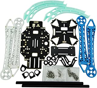 Usmile S500 PCB Quadcopter Frame Kit with Landing Gear Skid for FPV Quadcopter FPV Drone able to Mount Gopro Gimbal F450 Upgrade Similar to F550