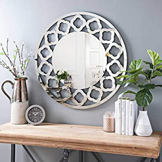 KOHROS Art Decorative Wall Mirrors Large Accent Venetian Mirror for Hotel Home Vanity Sliver Mirror (31.5