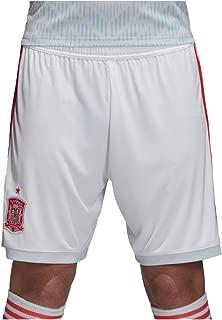 adidas 2018-2019 Spain Away Football Shorts (White)