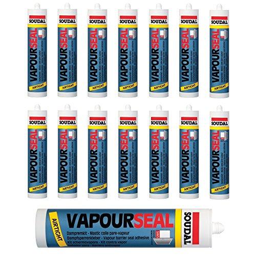 15x Soudal Vapourseal blau Folienkleber Dichtkleber Dampfbremse Dampfsperre 310 ml