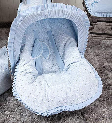 Babyline Love - Colchoneta para silla grupo 0, color azul
