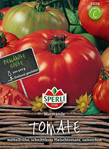 Sperli Fleisch-Tomate Marmande   italienische Sorte   sehr schnittfest   Päckchen Samen