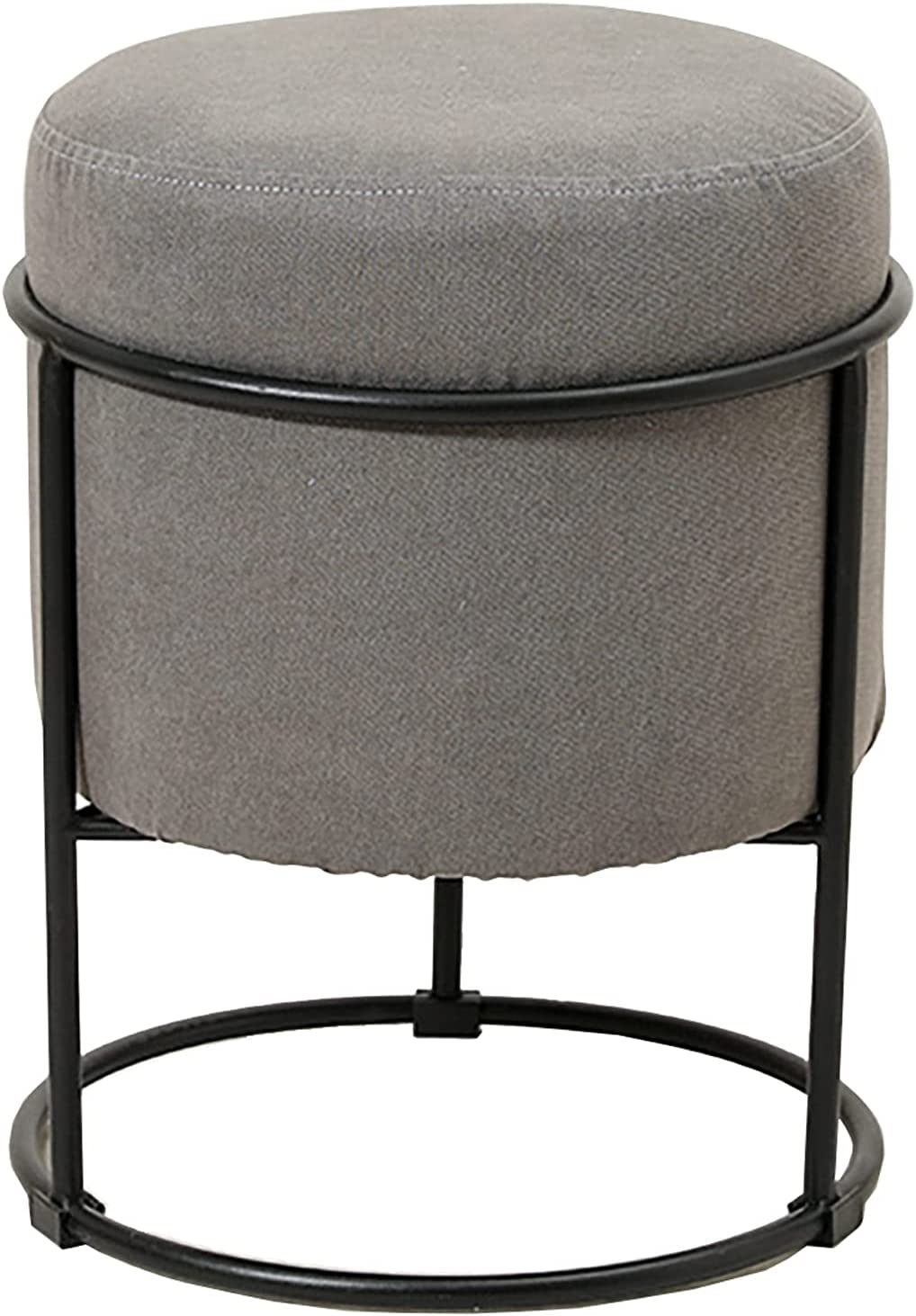 ZHAORU Cotton Regular dealer and Linen Portland Mall Ottoman Round Footstool Table Mod Side -