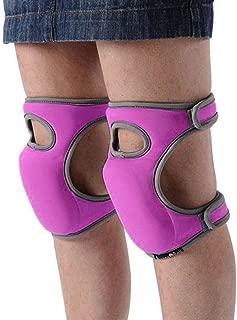 Toyfun Knee Pads for Gardening Cleaning, Knee Pads for Work Knee Pads for Scrubbing Floors Memory Foam Knee Pads (Purple)
