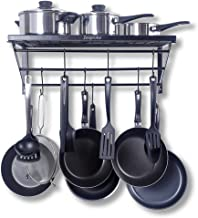 Best wall mounted pots and pans rack Reviews