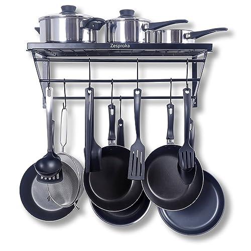 Wall Kitchen Rack to Hang Pots: Amazon.com