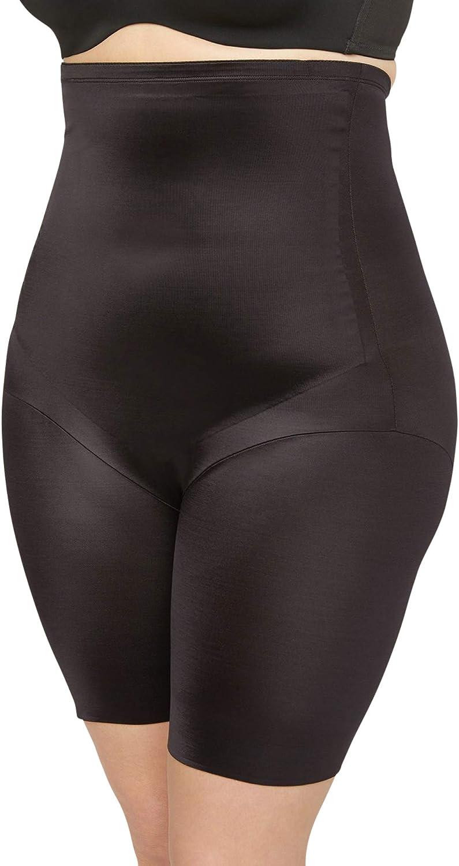 Catherines Women's Plus Size Firm Control Hi-Waist Thigh Shaper
