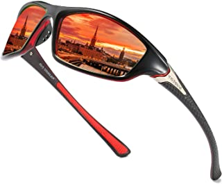 Sports Polarized Sunglasses For Men Cycling Driving...