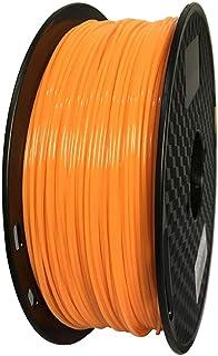 PETG フィラメント 1.75 mm (オレンジ) Longsell 3Dプリンター1KG スプール PETG フィラメント 3Dプリント造形材料 PETG あらゆる3D プリンターに対応 PETG フィラメント(オレンジ)