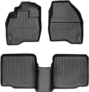 WeatherTech Custom Fit FloorLiner for Ford Explorer - 1st & 2nd Row (Black)
