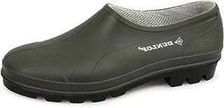 Dunlop UNISEX Green Slip On gardening shoes Clogs Low Cut Wellies