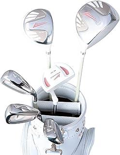 WORLD EAGLE(ワールドイーグル) 101 レディース ゴルフ ハーフセット 右用 ホワイト