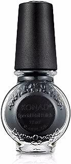 Konad Nail Art Stamping Polish 11ml/ 0.37fl oz (S25 BLACK)