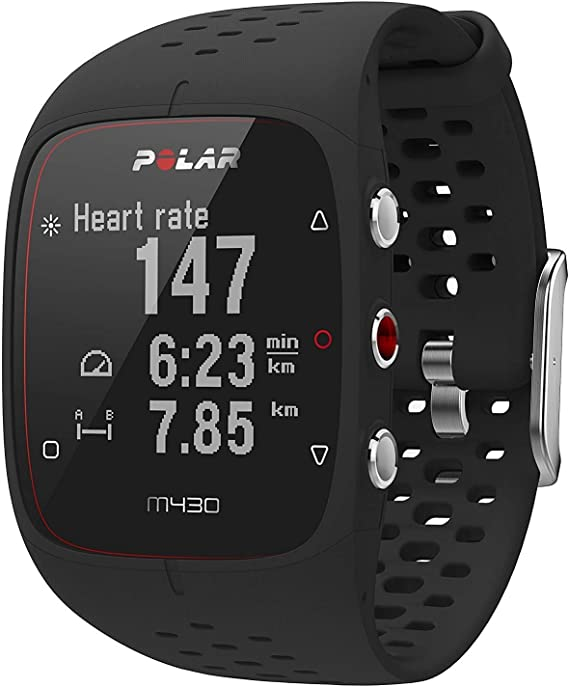 Polar M430 Reloj de Running con GPS y Frecuencia cardíaca en la muñeca - Multideporte - Actividad 24/7 - Negro, S