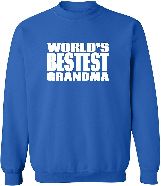 World's Bestest Grandma Crewneck Sweatshirt