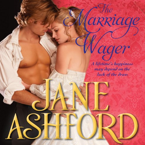The Marriage Wager audiobook cover art
