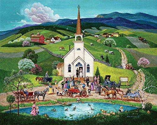 Springbok 100 Piece Jigsaw Puzzle Spring Wedding