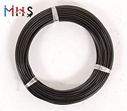 MHS HIGH Grade Iron Cloth Drying Wire Black PVC Insulated (15 MTR)