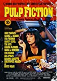 CoolPrintsUK Pulp Fiction Poster Borderless Vibrant Premium