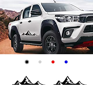 4runner,Yaris Camry,Tacoma Supercharger Silver Tundra,Avalon 3D Metal TRD Car Emblem Chrome Stickers Decals Badge Labeling for Fj Cruiser Pack of 2